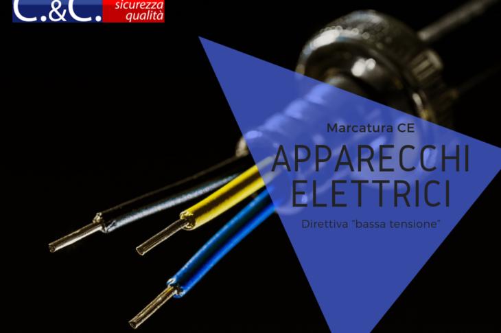 La marcatura CE degli apparecchi elettrici