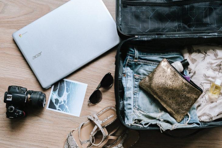 Come risparmiare spazio nel bagaglio